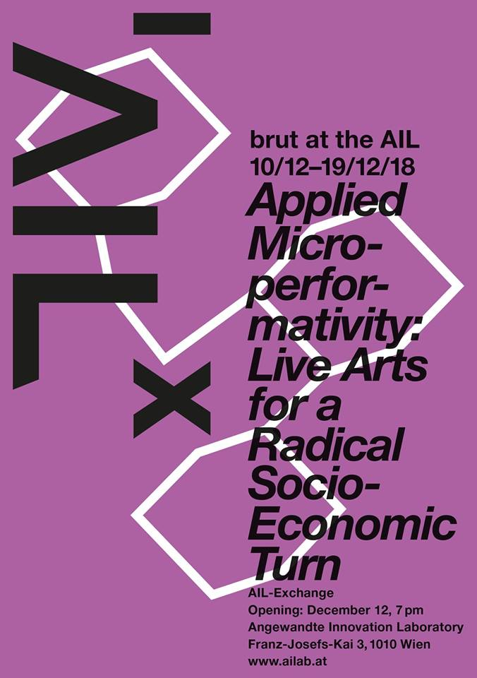 Applied Microperformativity : Live Arts for a Radical Socio-Economic Turn
