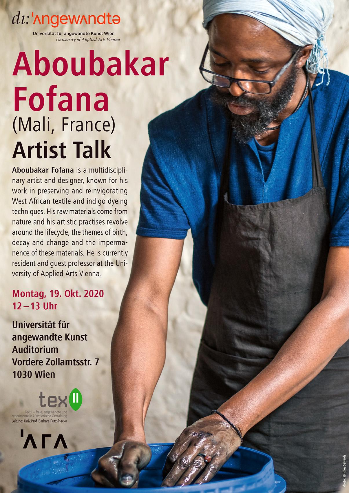 Artist Talk with Aboubakar Fofana